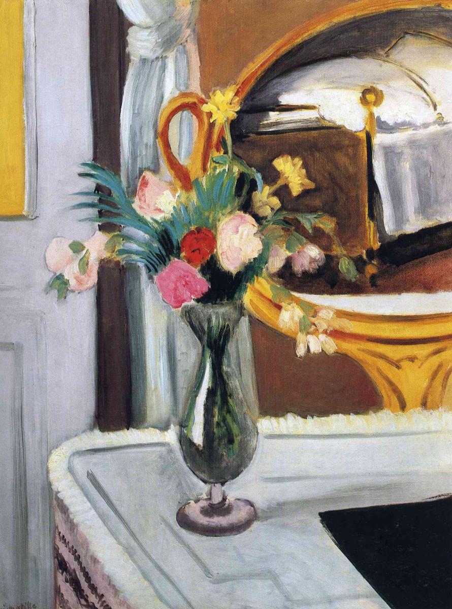 Анри Матисс. Ваза с цветами