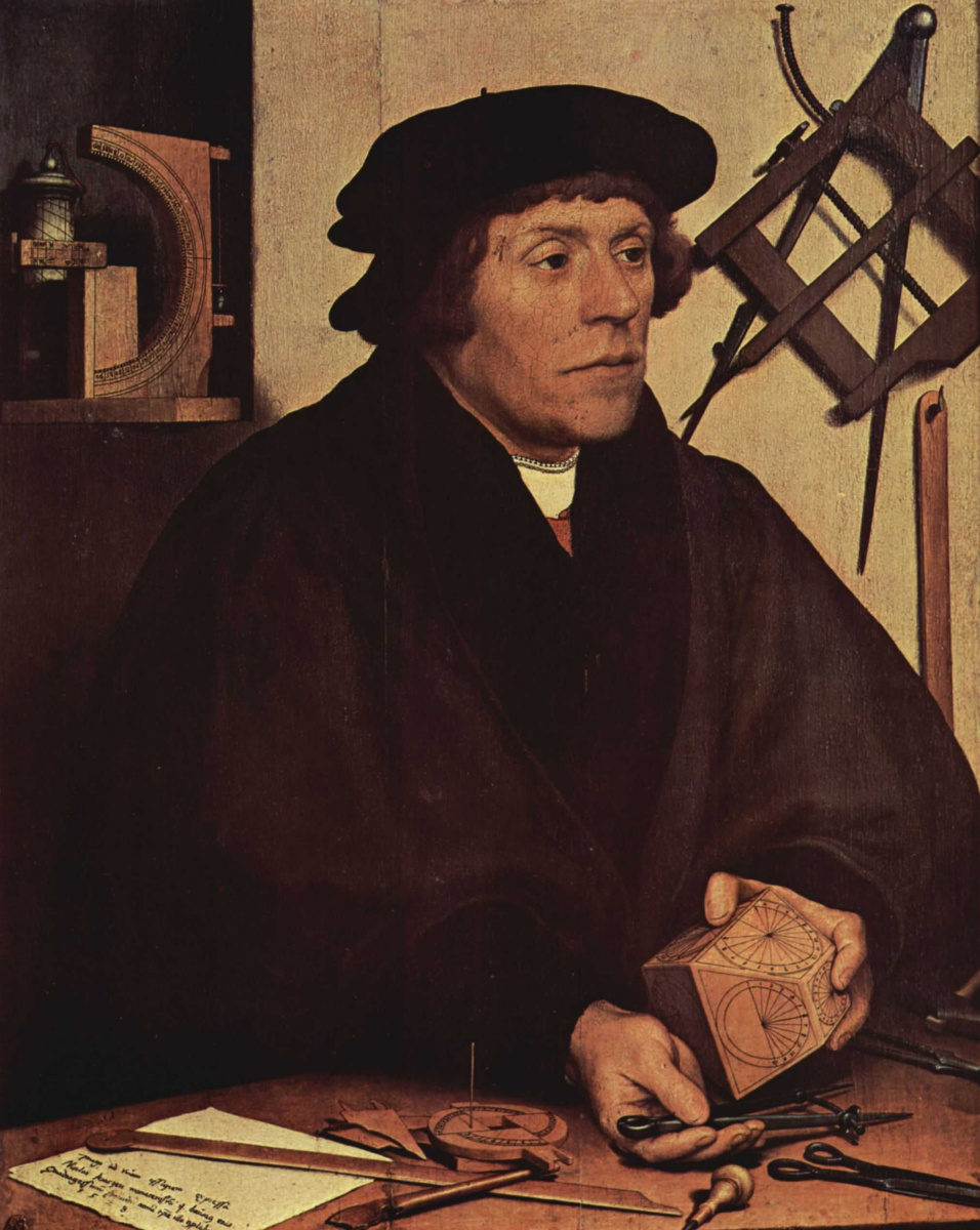 Ганс Гольбейн Младший. Портрет астронома Николая Кратцера