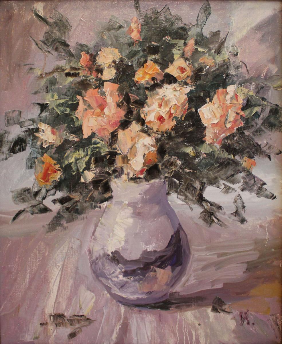 Love Sergeyevna Nikulina. Розы