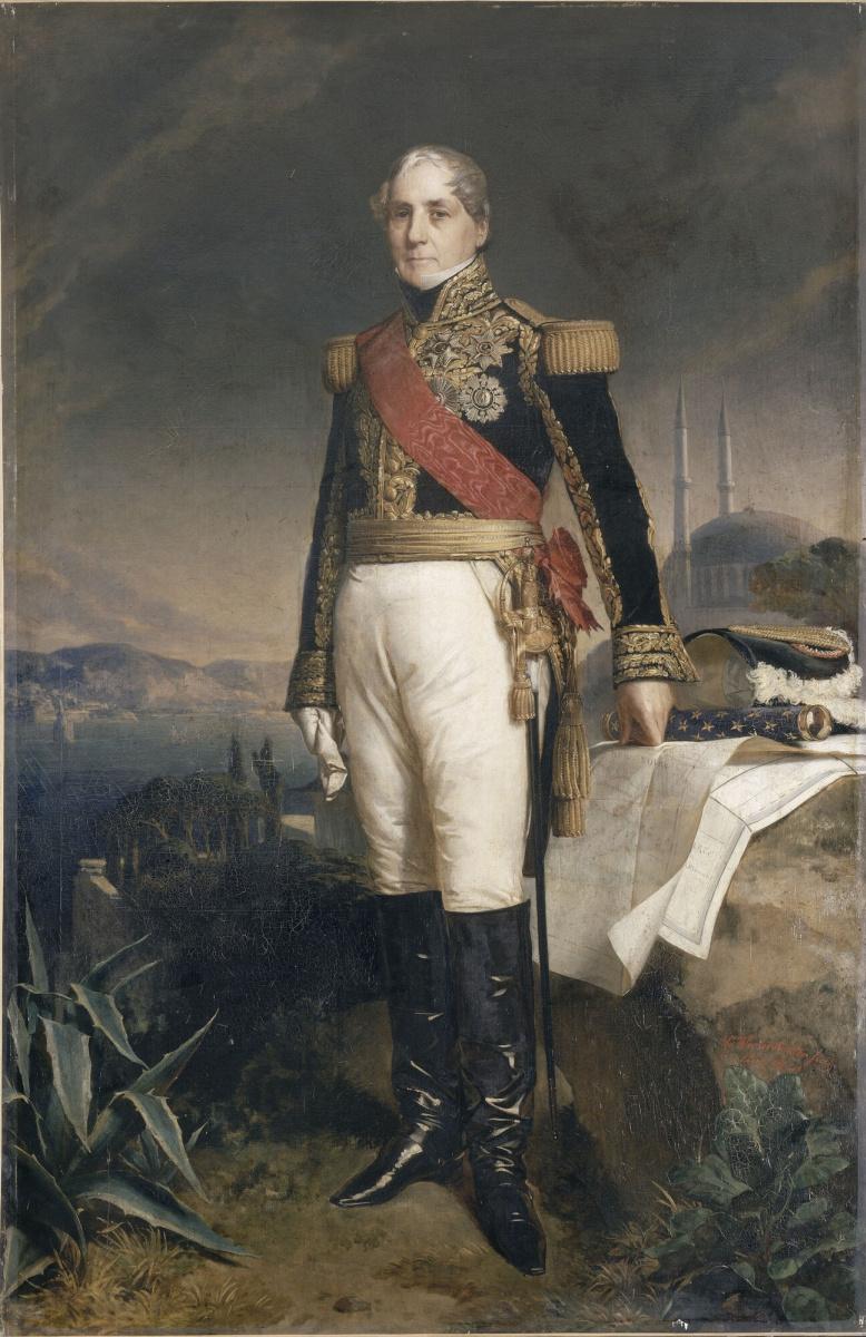 Франц Ксавер Винтерхальтер. Гораций-Франсуа-Бастьен Себастьяни, граф Ла-Порта