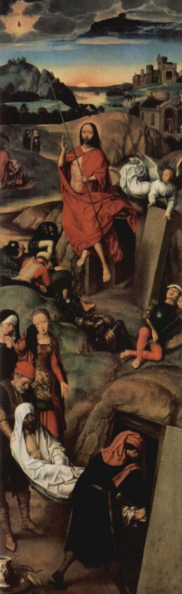 Ганс Мемлинг. Воскресение Христово