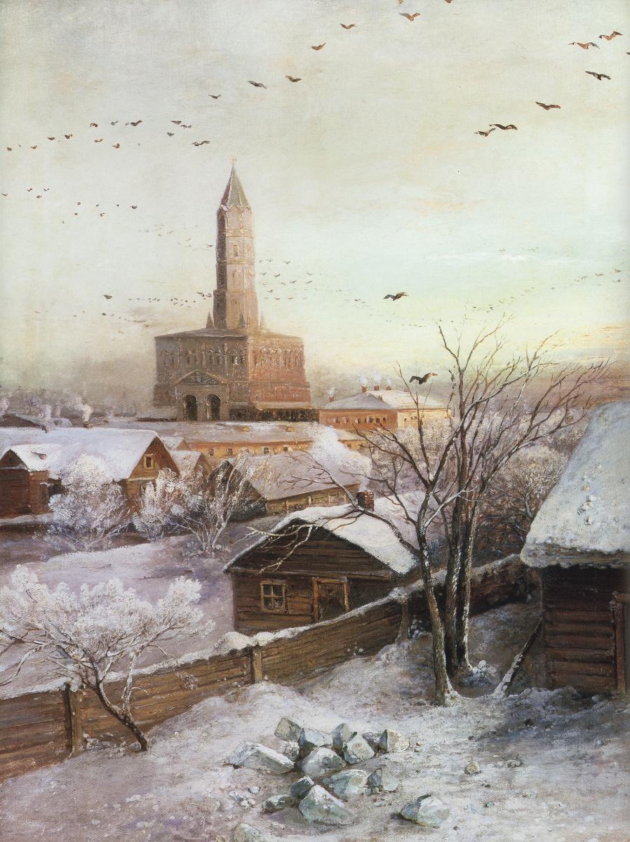 Алексей Кондратьевич Саврасов. Сухарева башня