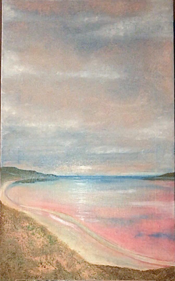 Vita Berezovskaya. Pink lake