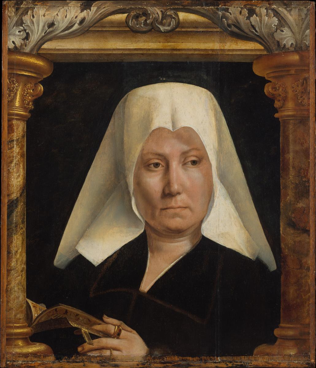 Quentin Masseys. Portrait of a Woman