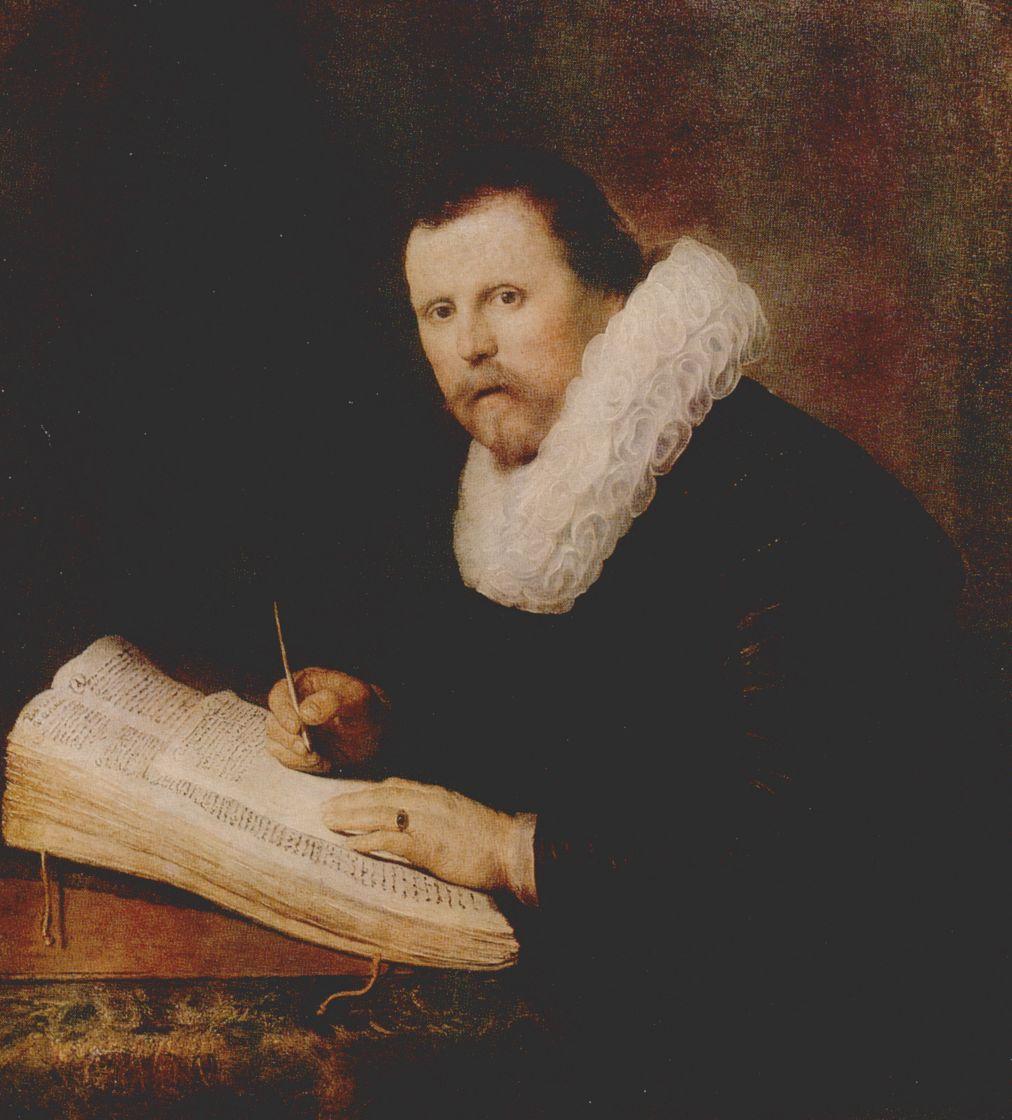 Рембрандт Харменс ван Рейн. Портрет ученого
