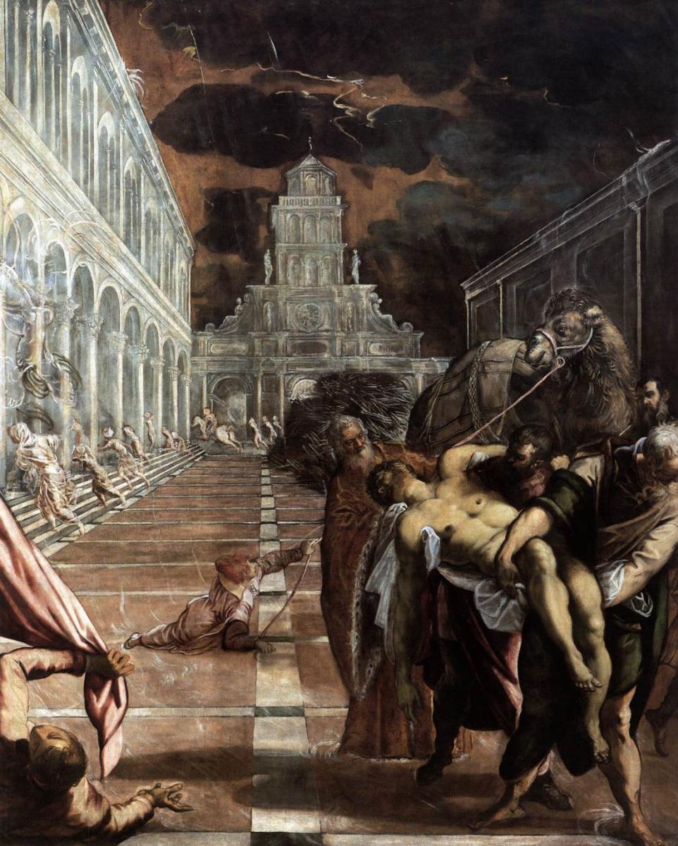 Якопо Тинторетто. Похищение тела святого Марка