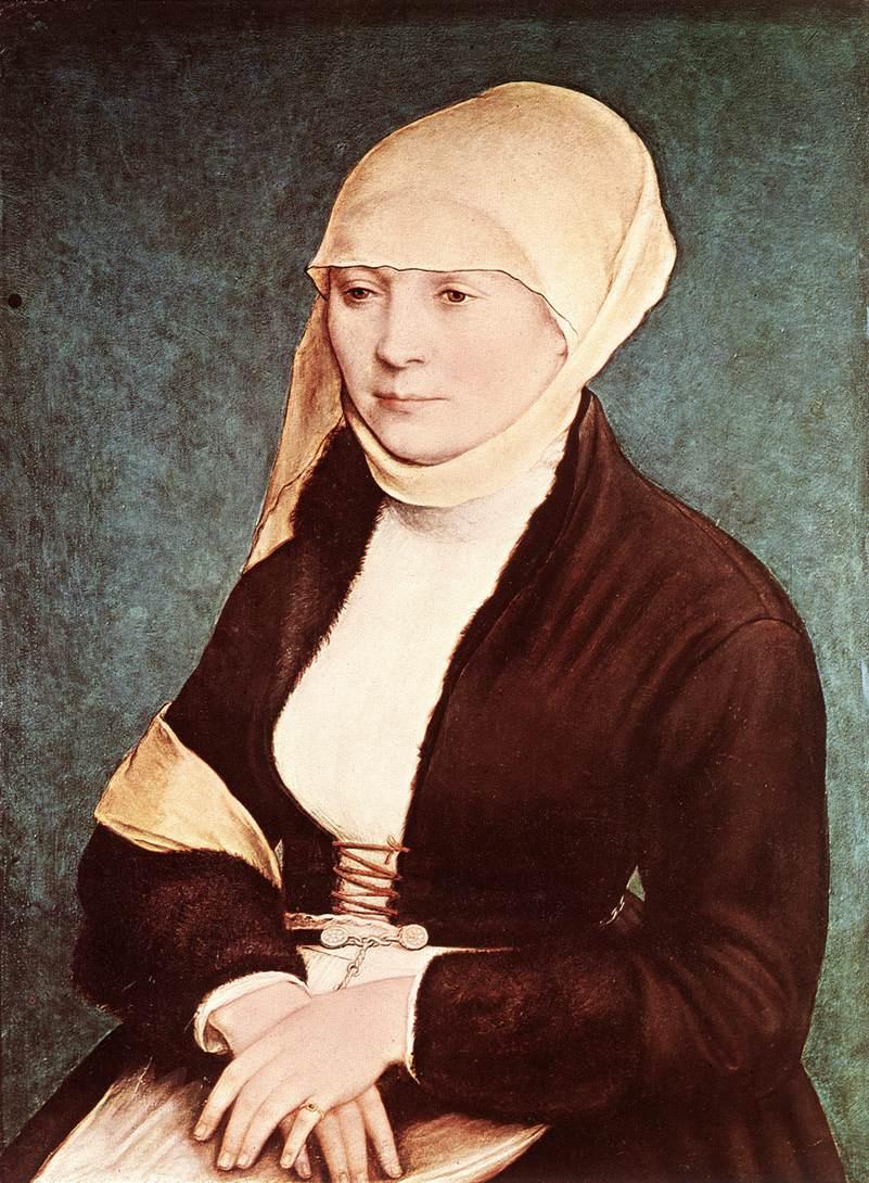 Ганс Гольбейн Младший. Портрет жены художника