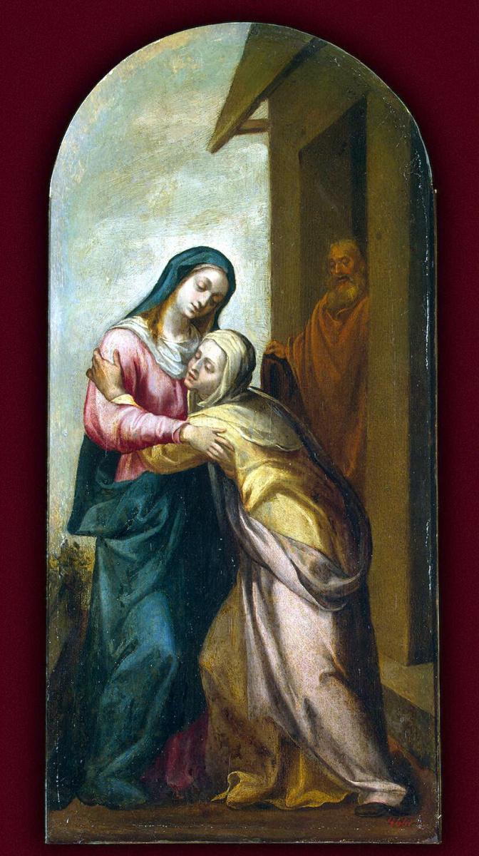 Хуан дель Кастильо. Встреча Марии и Елизаветы