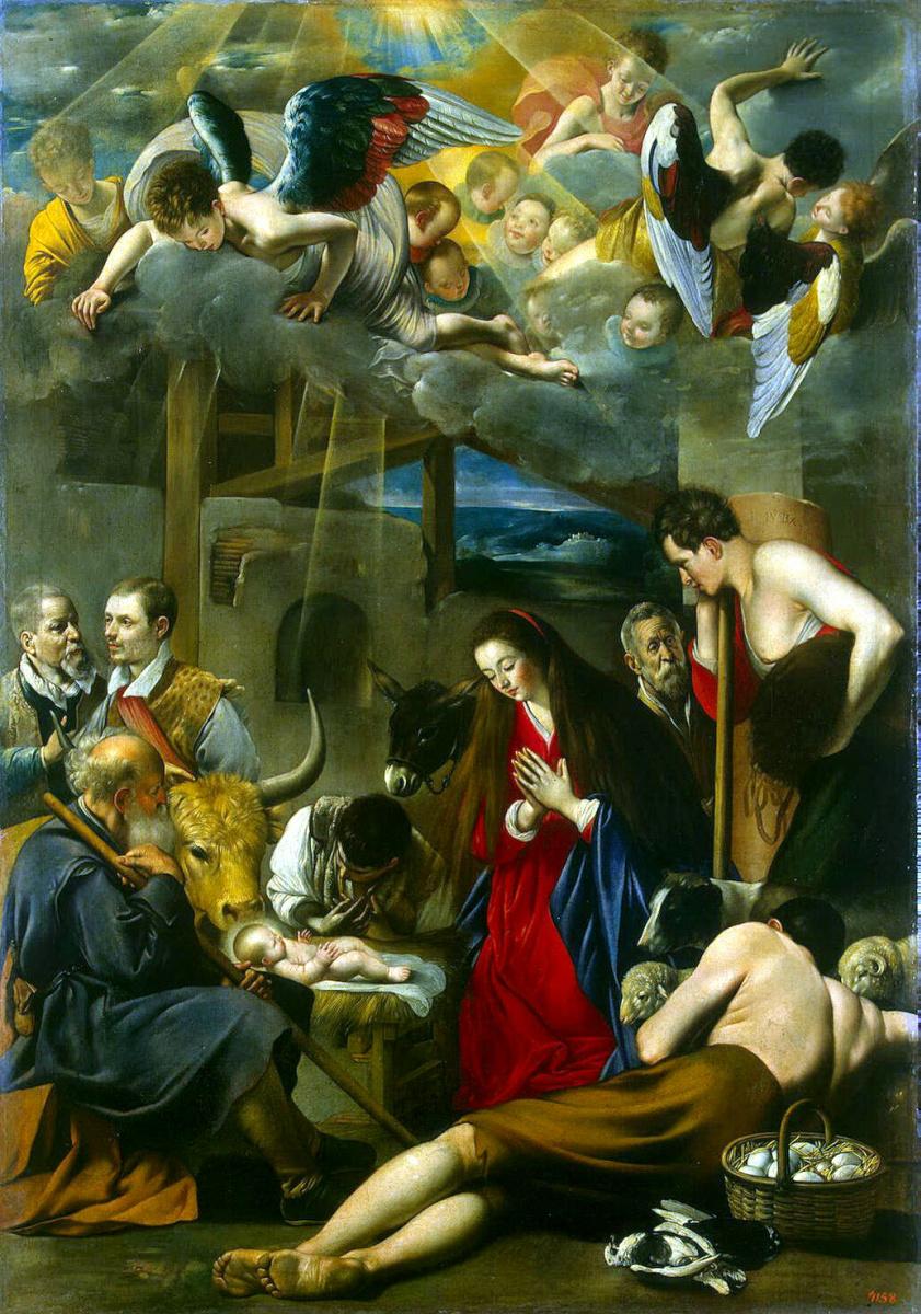 Фра Хуан Батиста Майно. Поклонение пастухов