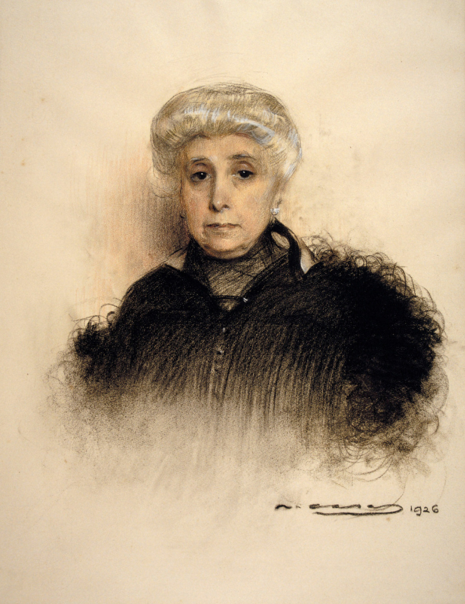 Рамон Касас Карбо. Портрет миссис де Партага