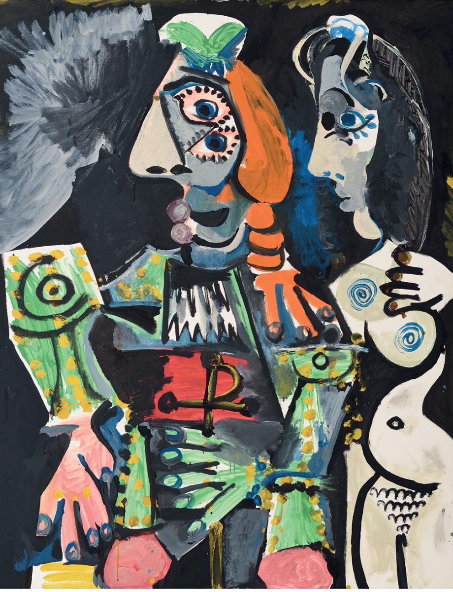 Пабло Пикассо. Матадор и обнаженная женщина