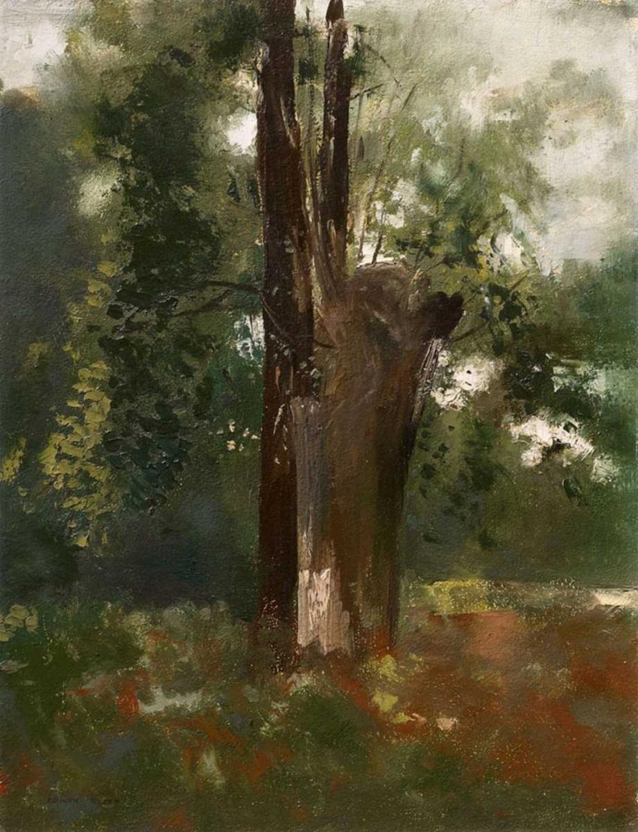 Одилон Редон. Дерево