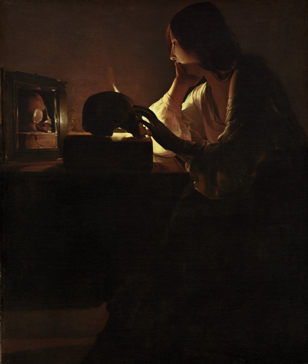 Жорж де Латур. Кающаяся Мария Магдалина