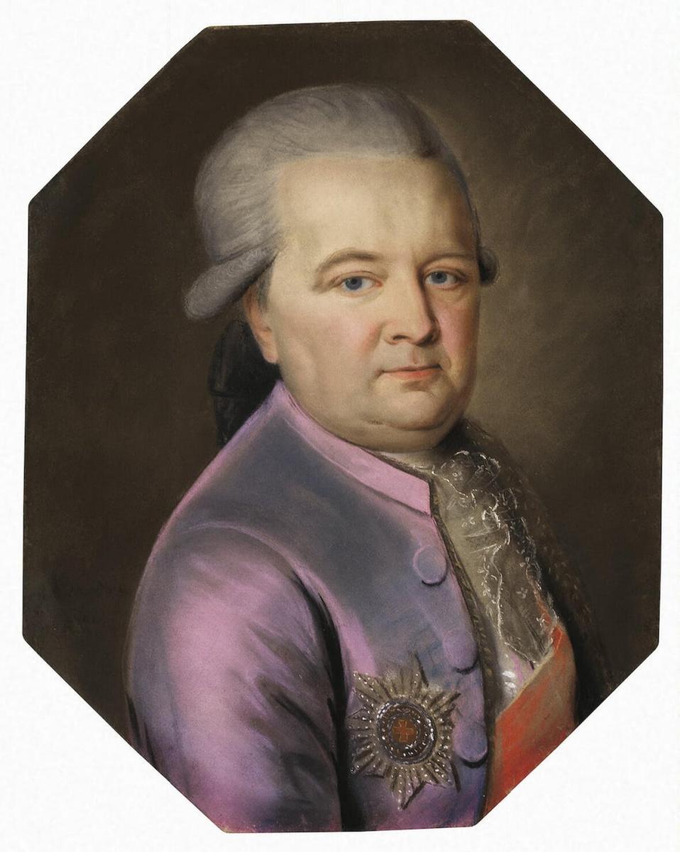 Иоганн Барду. Портрет князя Ивана Федоровича Голицына