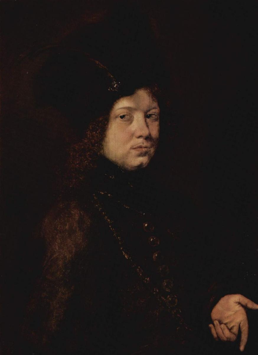 Паудис Кристоф. Портрет молодого человека