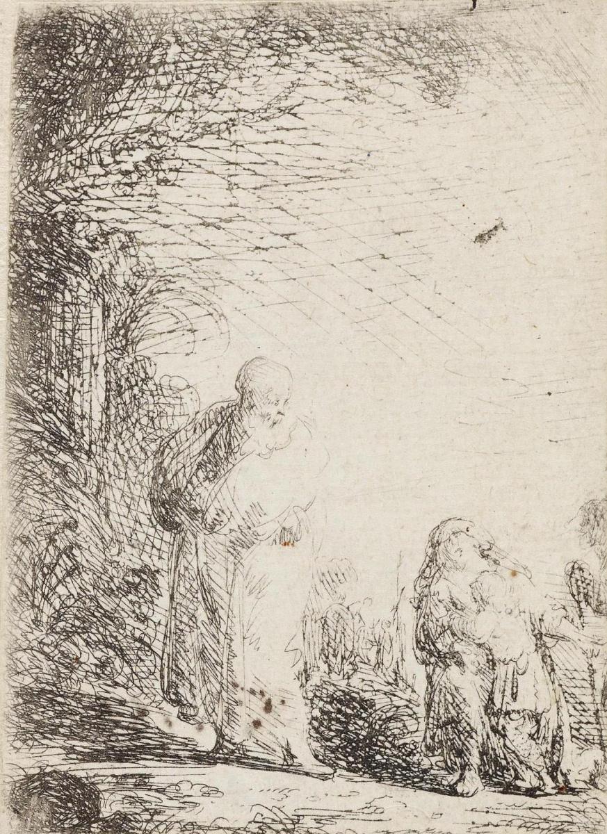 Ян Ливенс. Авраам, изгоняющий Агарь и Исмаила