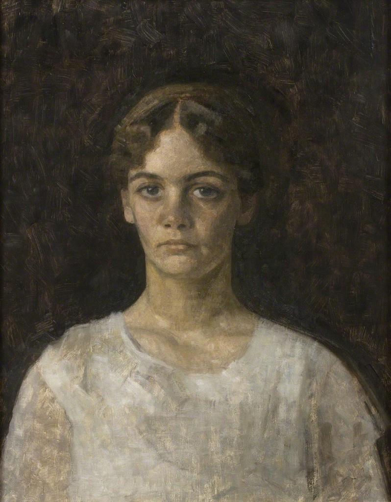 Вильгельм Хаммерсхёй. Портрет мисс Эльзы Аагасен