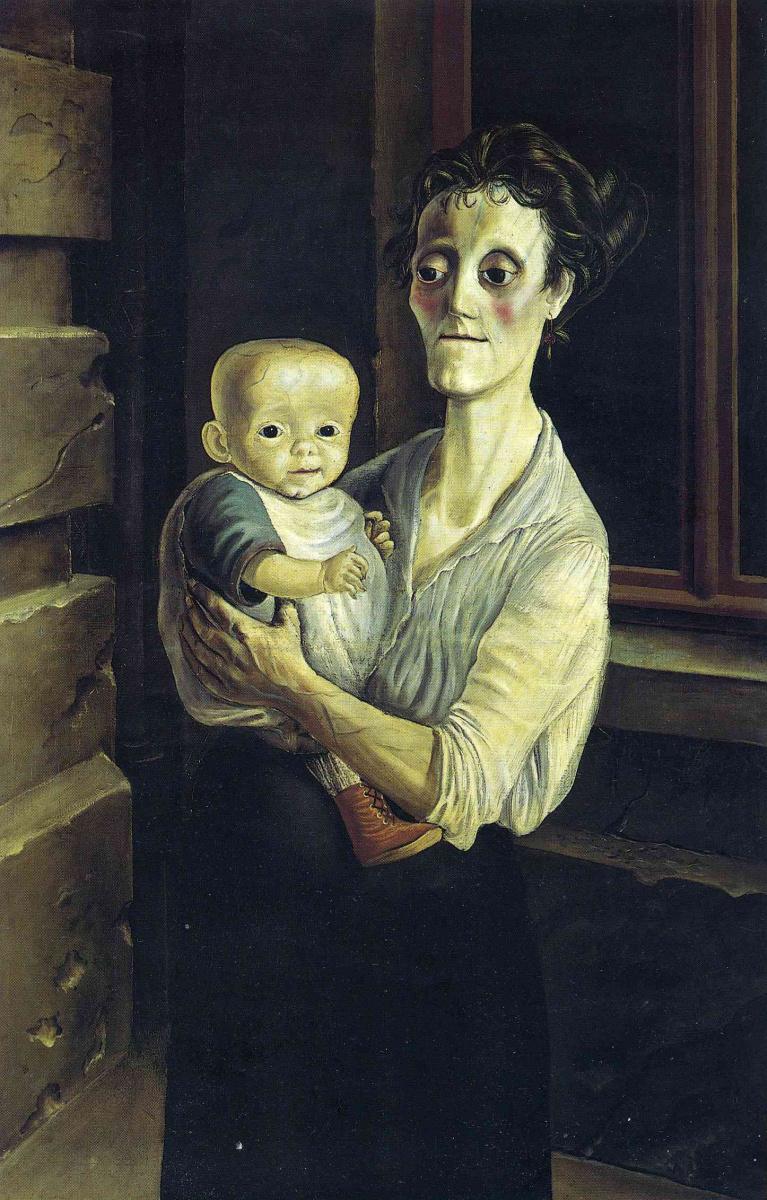 Отто Дикс. Мать и дитя