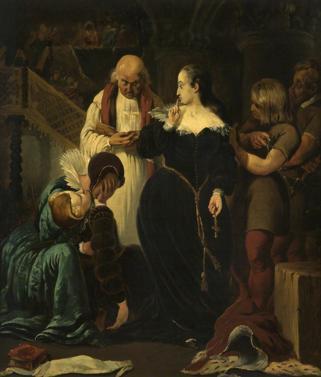 Ford Madox Brown. The execution of Mary, Queen of Scots