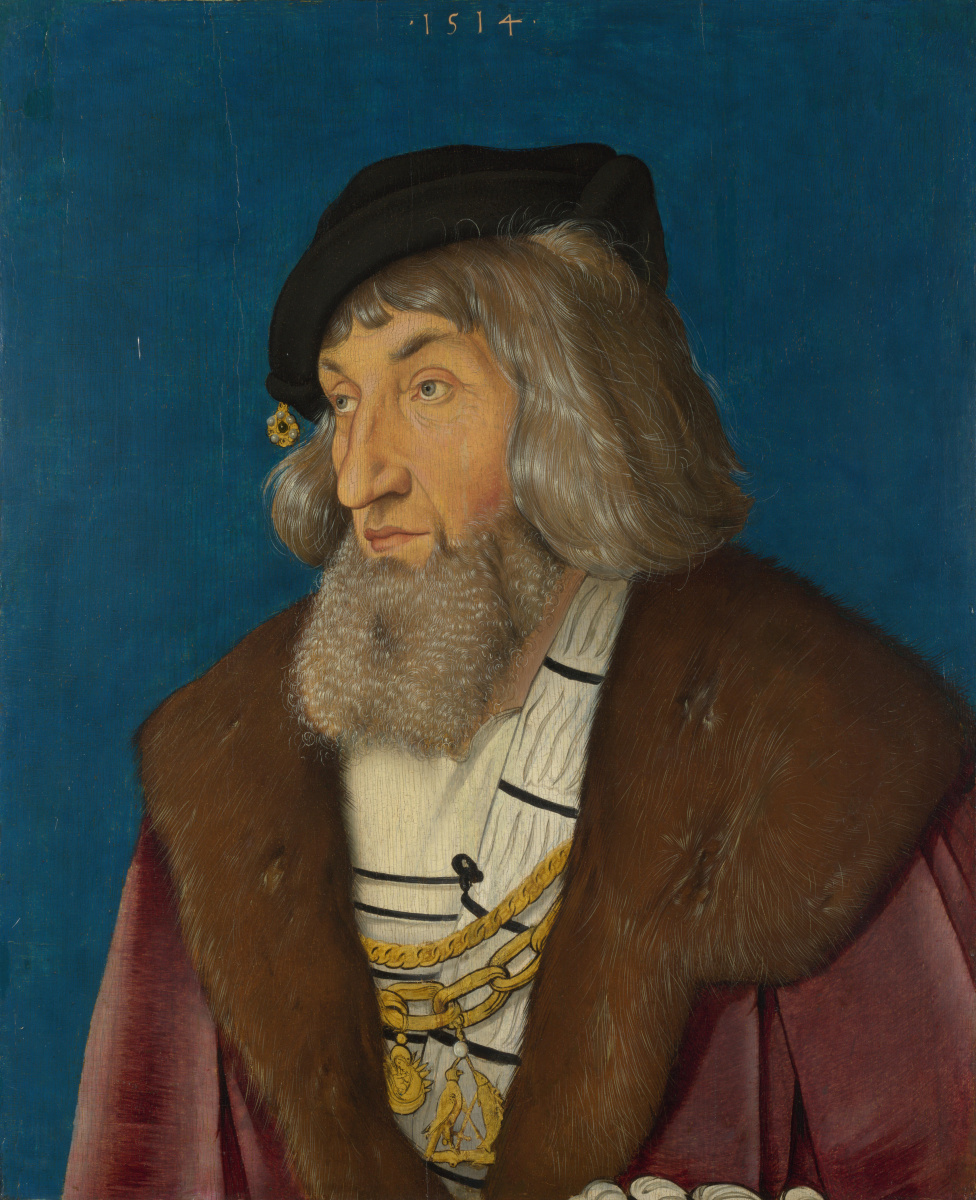 Ханс Бальдунг. Портрет мужчины