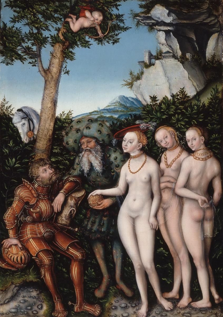 Lucas Cranach the Elder. The Judgment Of Paris
