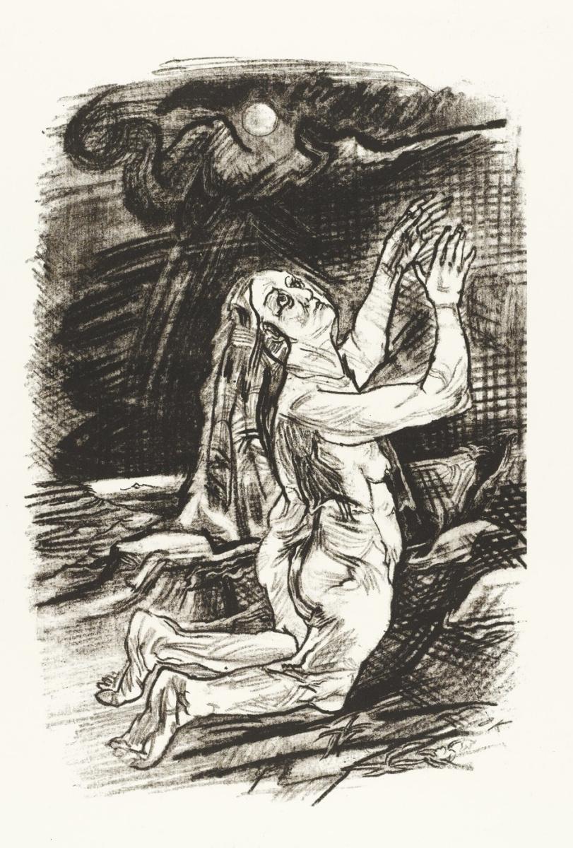 Oskar Kokoschka. Prayer