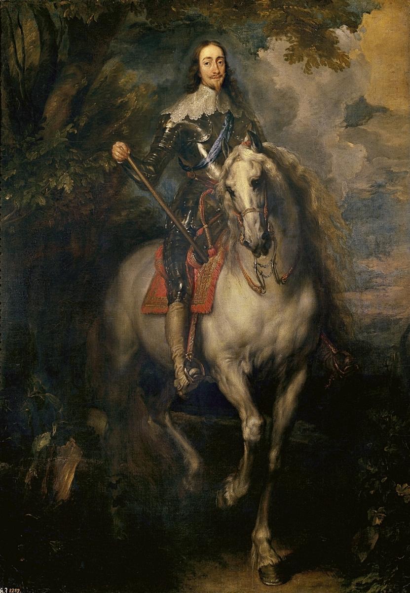 Антонис ван Дейк. Конный портрет Карла I, короля Англии