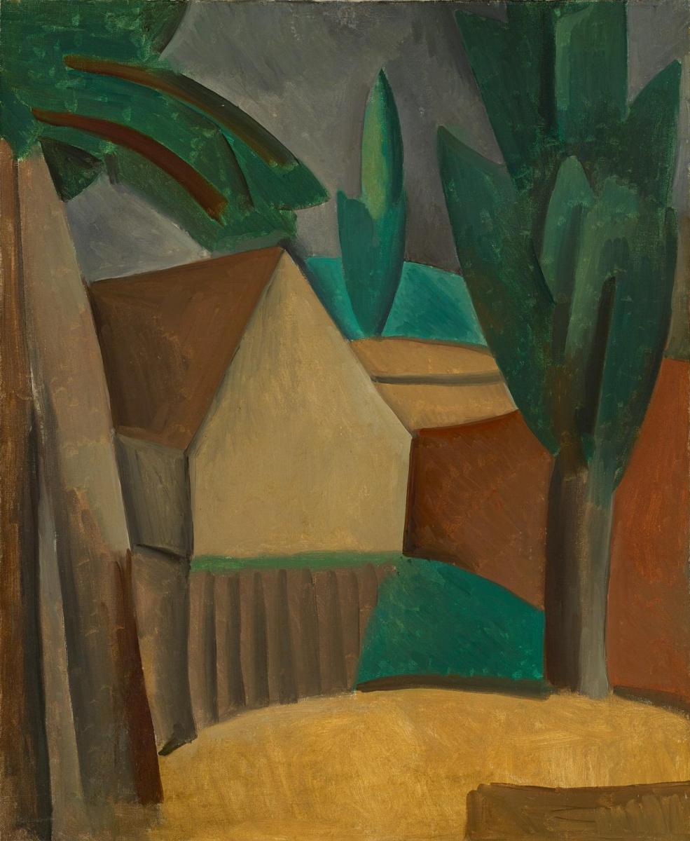 Пабло Пикассо. Дом в саду