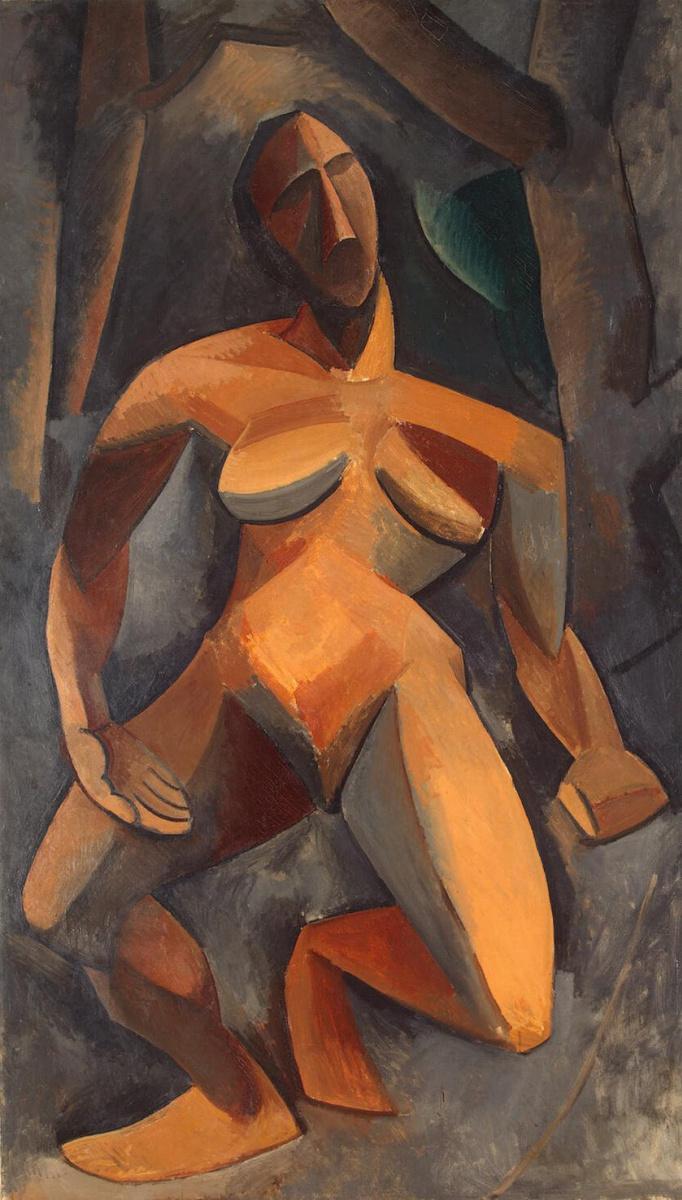 Пабло Пикассо. Дриада (Обнаженная в лесу)