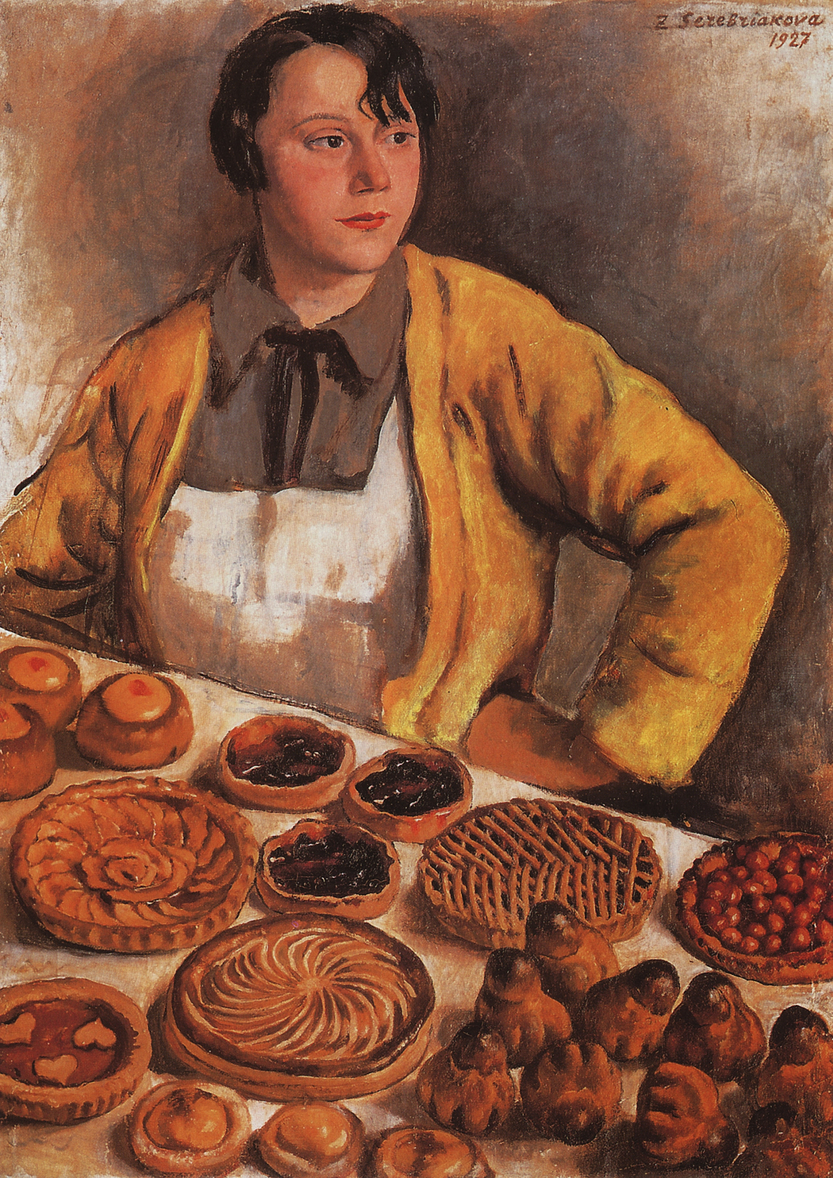 Zinaida Serebriakova. Baker from the Lepic Street