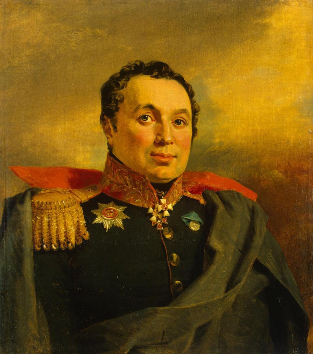 George Dow. Portrait Of Afanasy I. Krasovsky