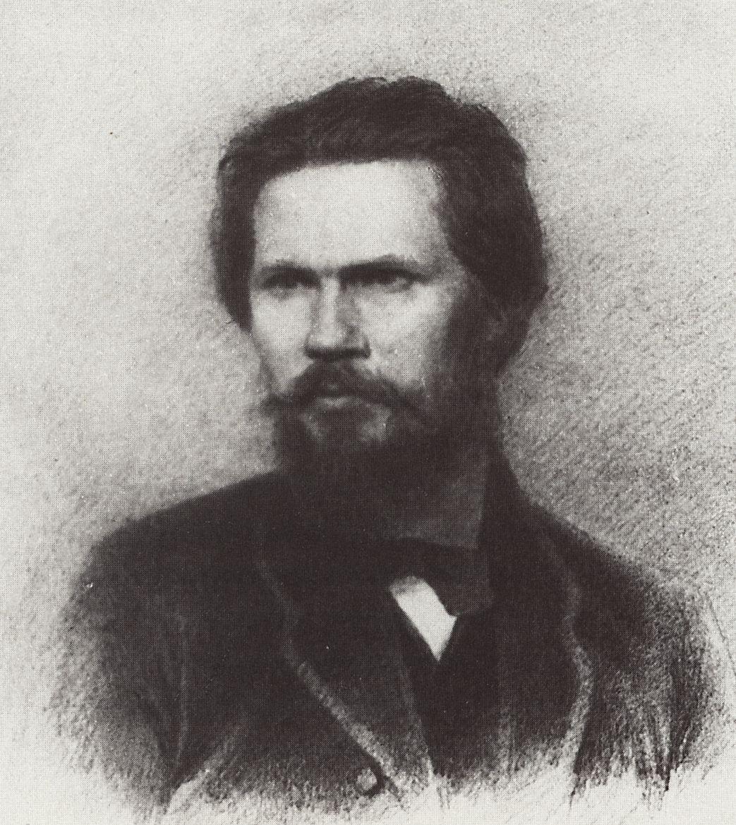 Архип Иванович Куинджи. Портрет И.Н. Крамского