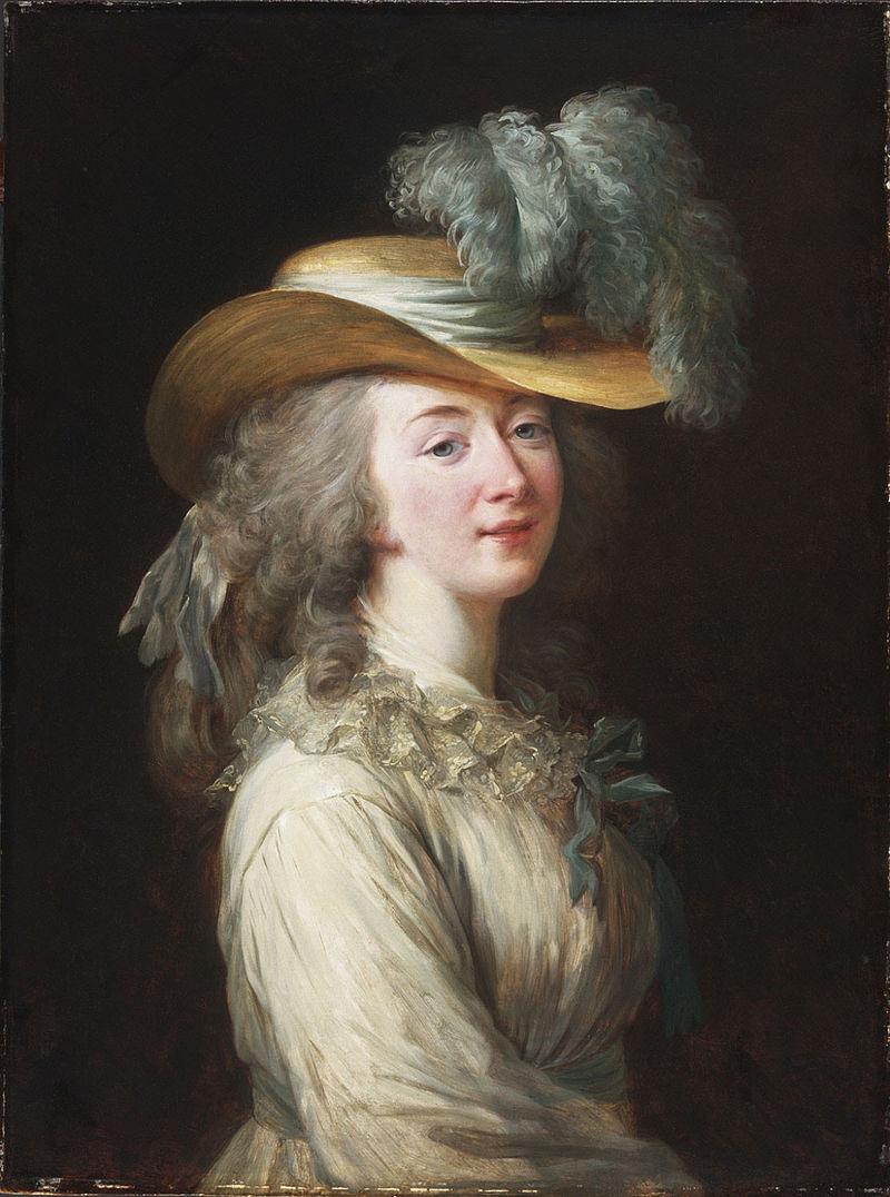 Elizabeth Vigee Le Brun. Portrait of Countess Dubarry