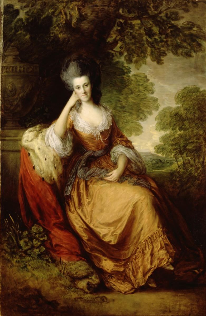 Thomas Gainsborough. Lady Anne Hamilton