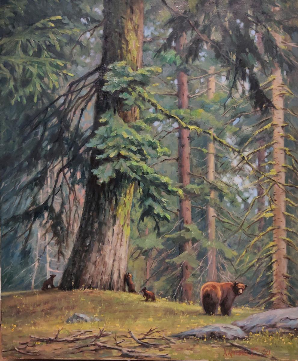George Kharchenko. Мишкин лес.