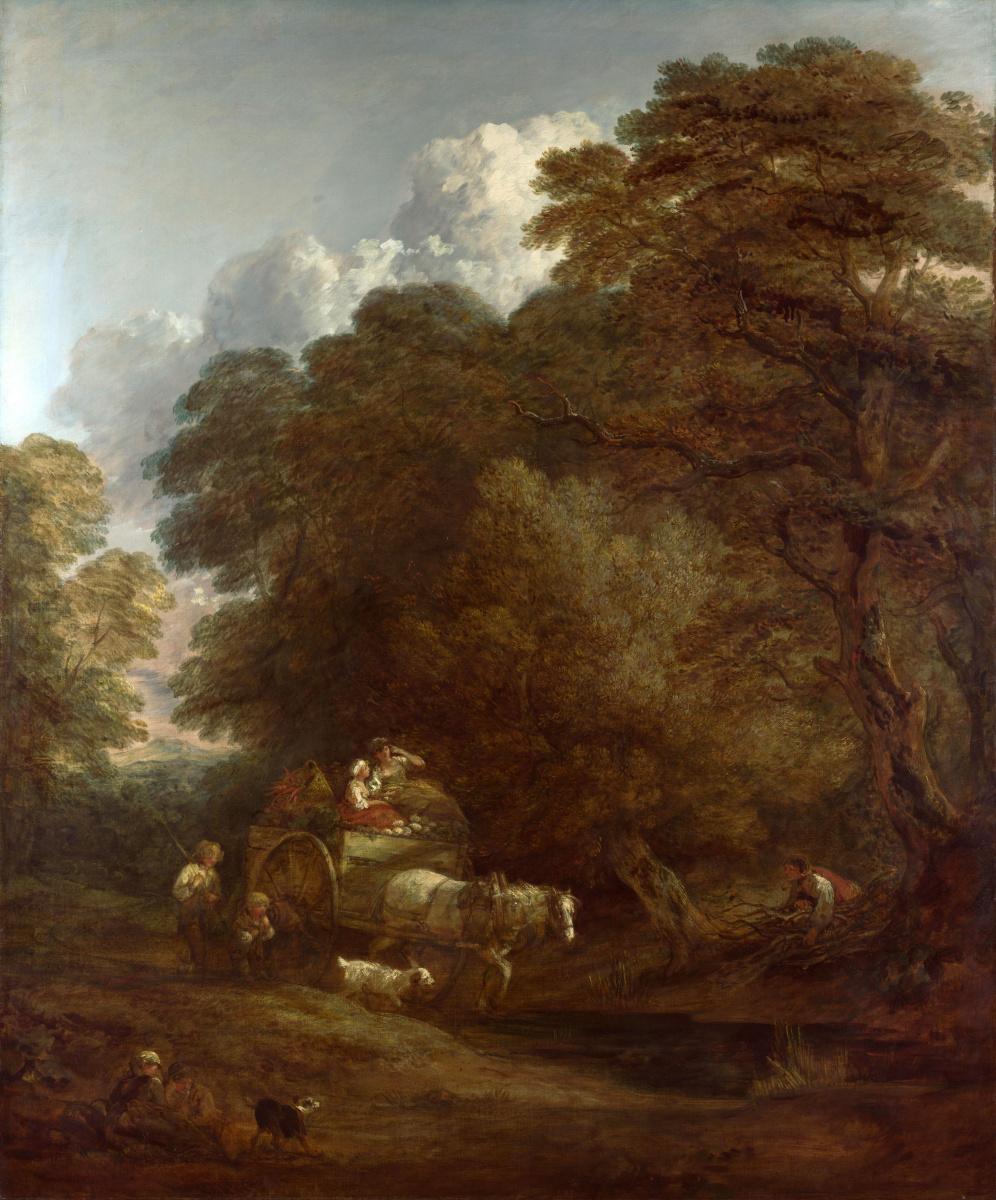 Thomas Gainsborough. Trip to the market