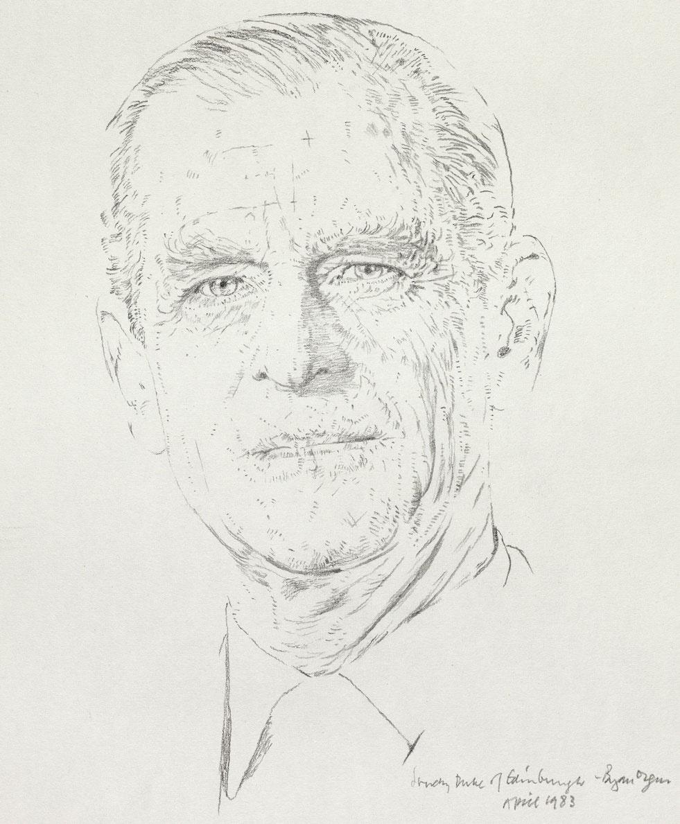 Брайан Орган. Его высочество герцог Эдинбургский