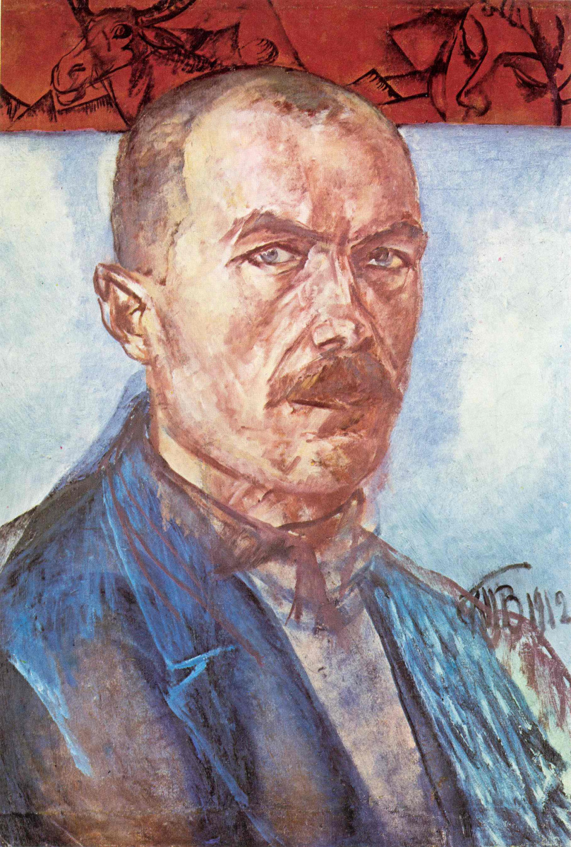 Кузьма Сергеевич Петров-Водкин. Автопортрет