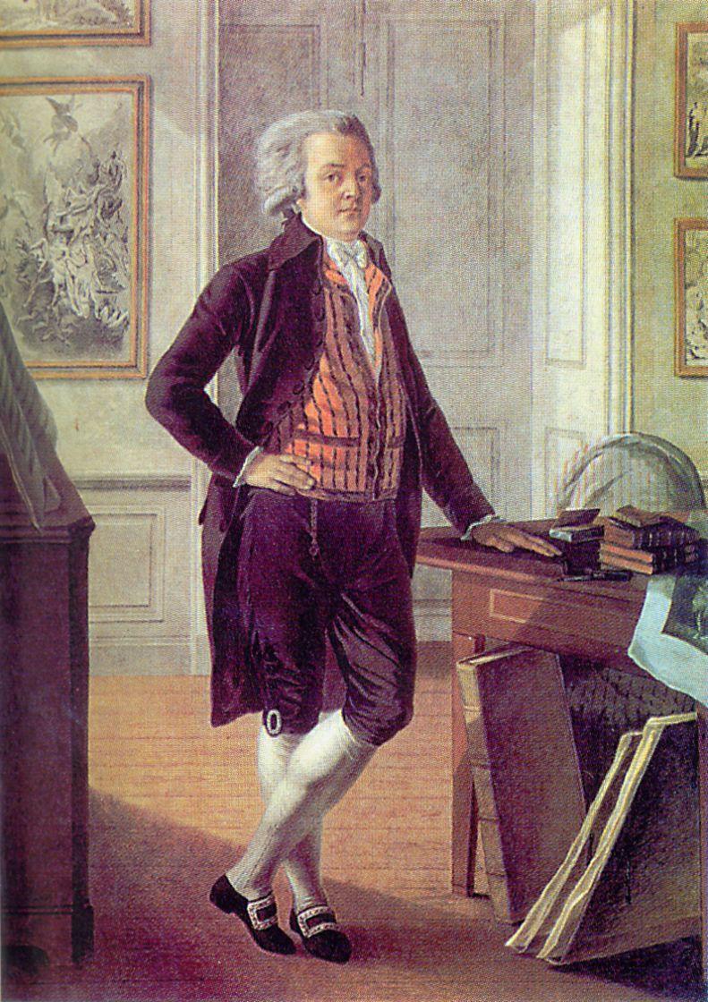 Гаврила Иванович Стародумов. Автопортрет