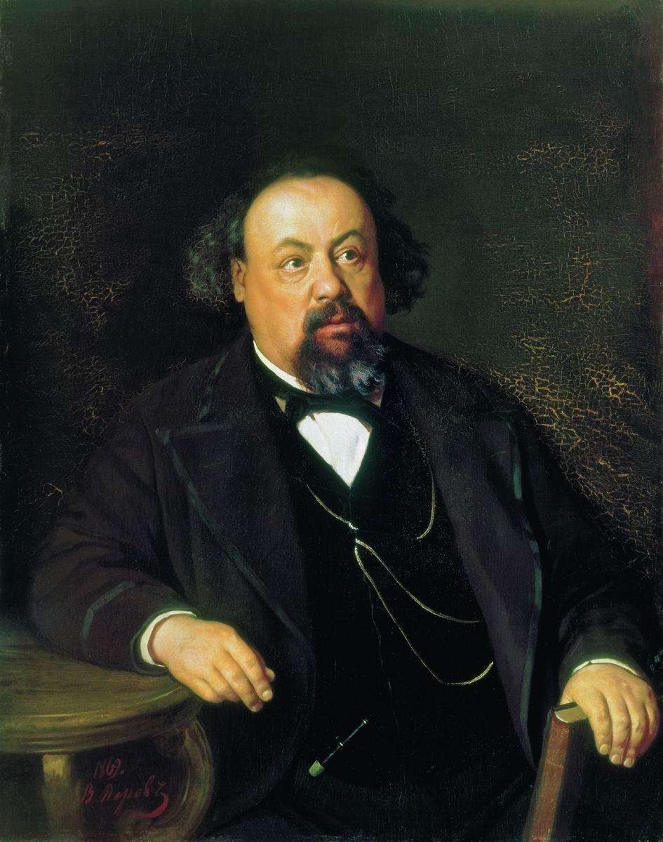 Василий Григорьевич Перов. Портрет писателя А. Ф. Писемского