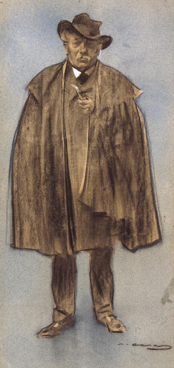 Рамон Касас Карбо. Портрет Альберта де Сицилио Льянаса