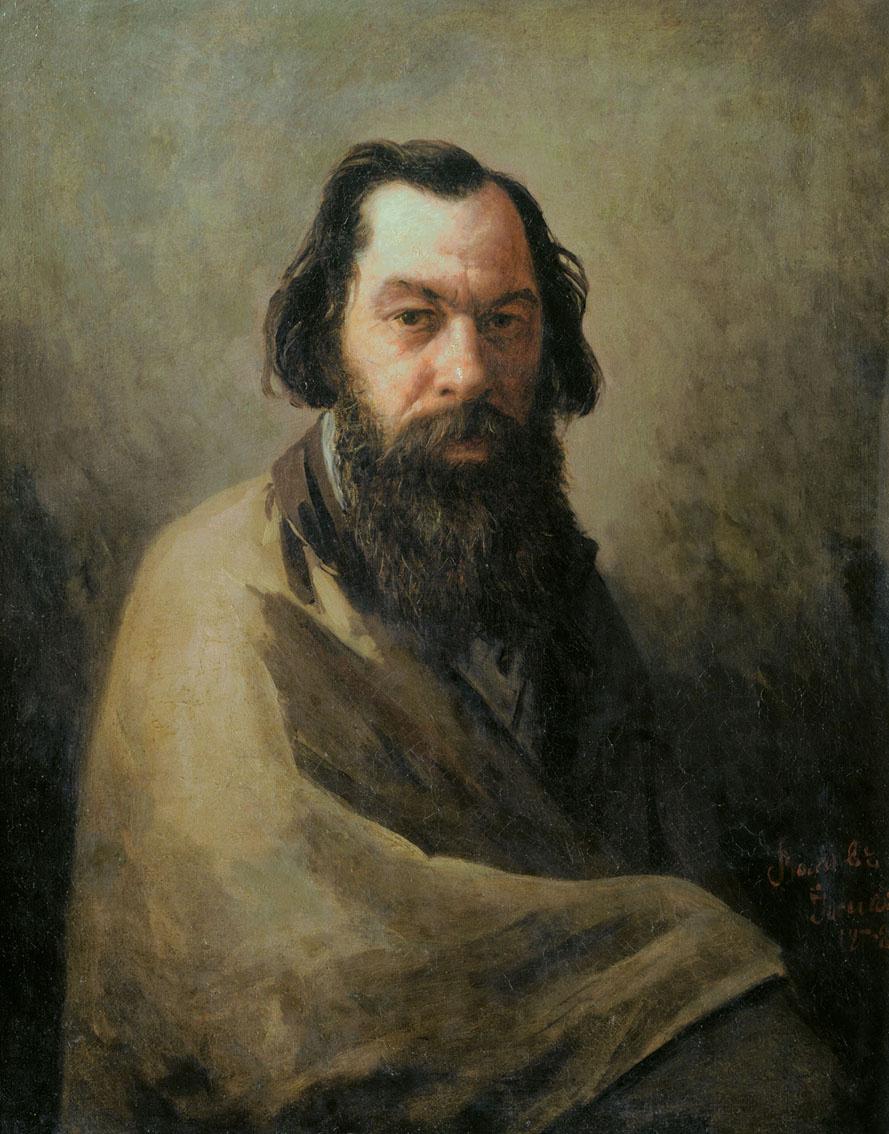 Иосиф Петрович Волков. Портрет А. К. Саврасова