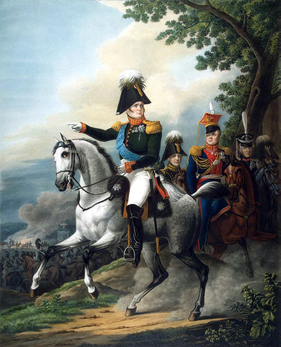 Орест Адамович Кипренский. Конный портрет Александра I