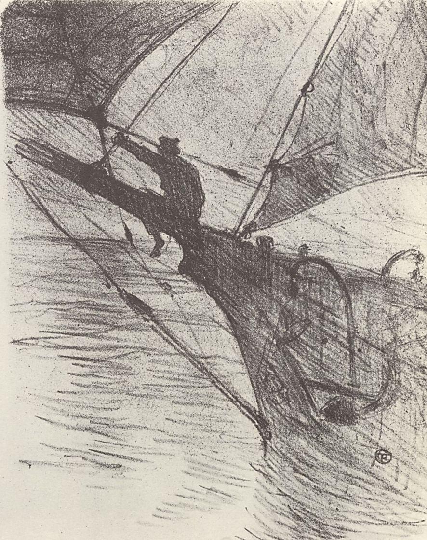 Анри де Тулуз-Лотрек. Ночь в океане