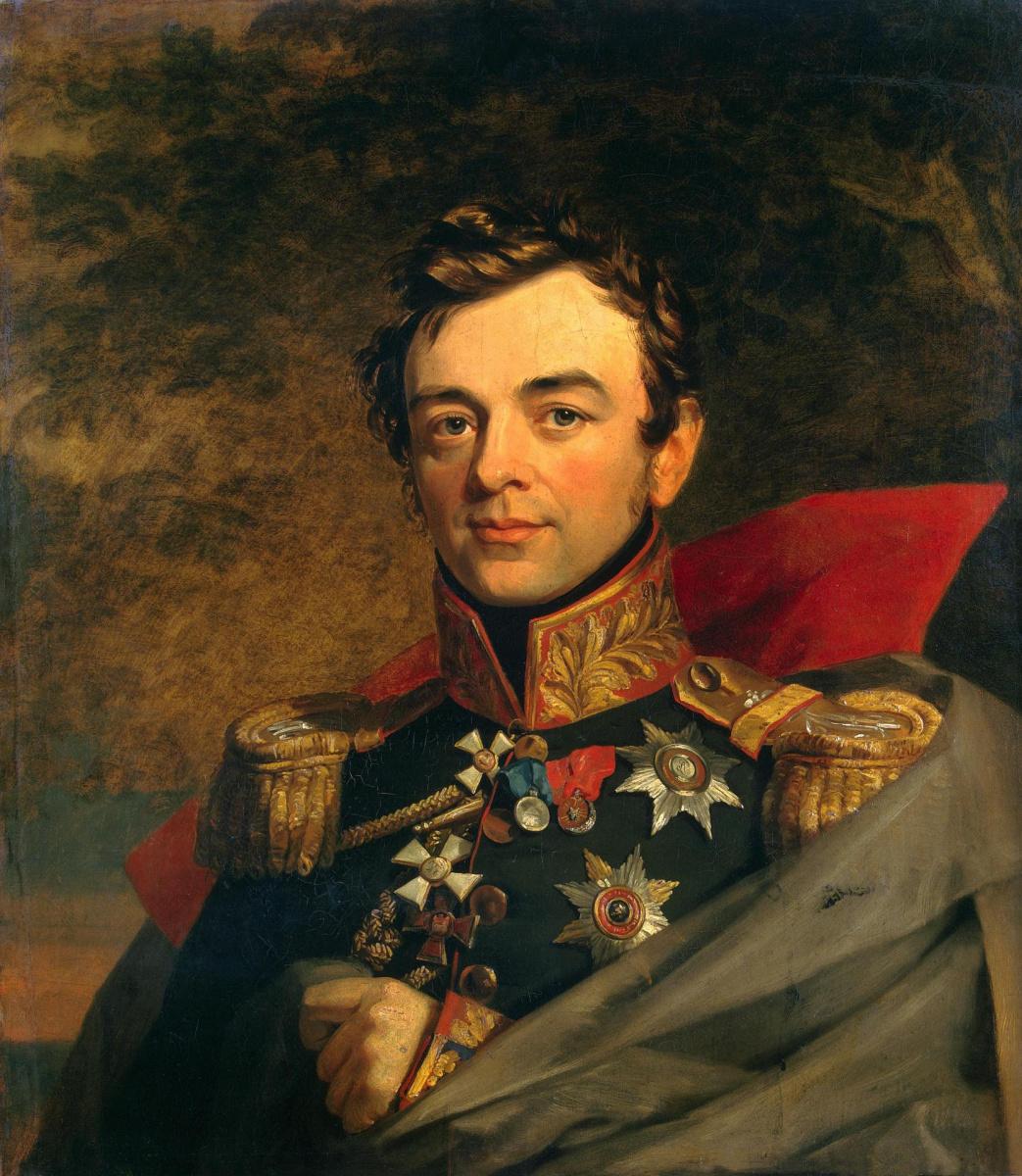George Dow. Portrait of Ivan Fyodorovich Paskevich