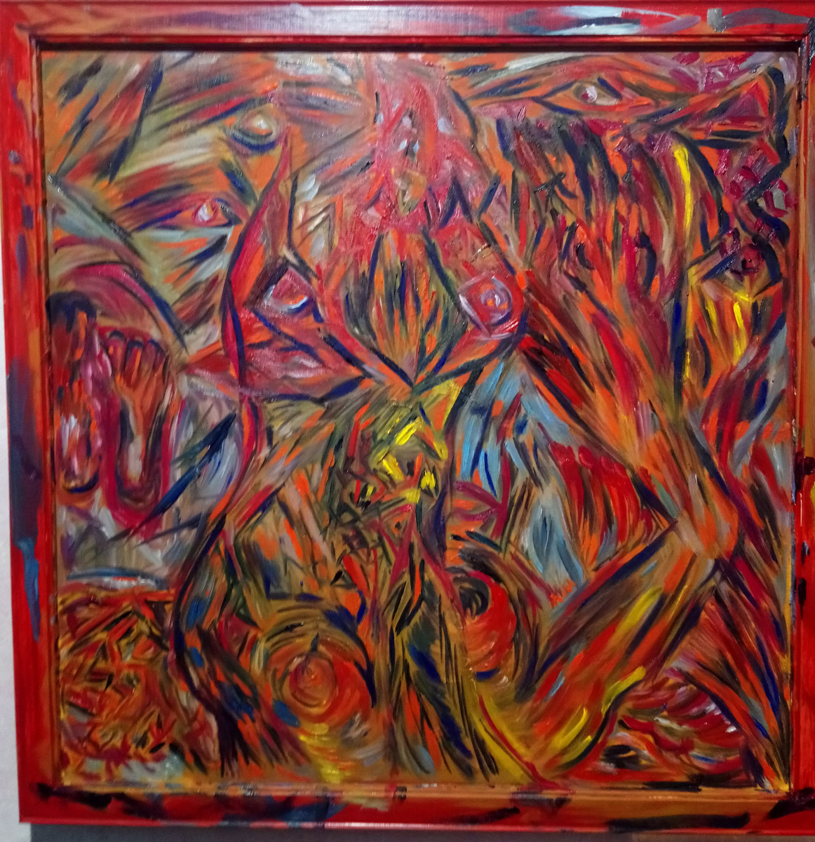 Pavel Puzyr. Time and space in red