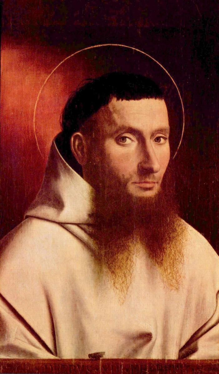 Петрус Кристус. Портрет картезианского монаха