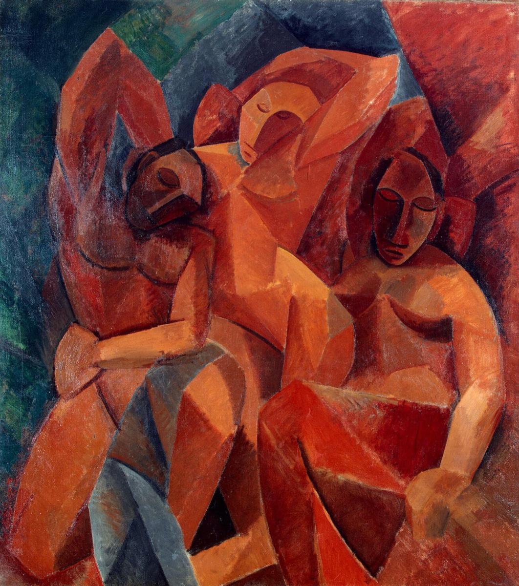 Pablo Picasso. Three women