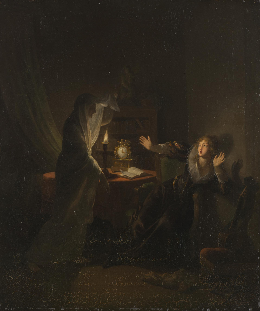 Jean-Frederick Schall. Ghost (Mother's ghost is Anthony)
