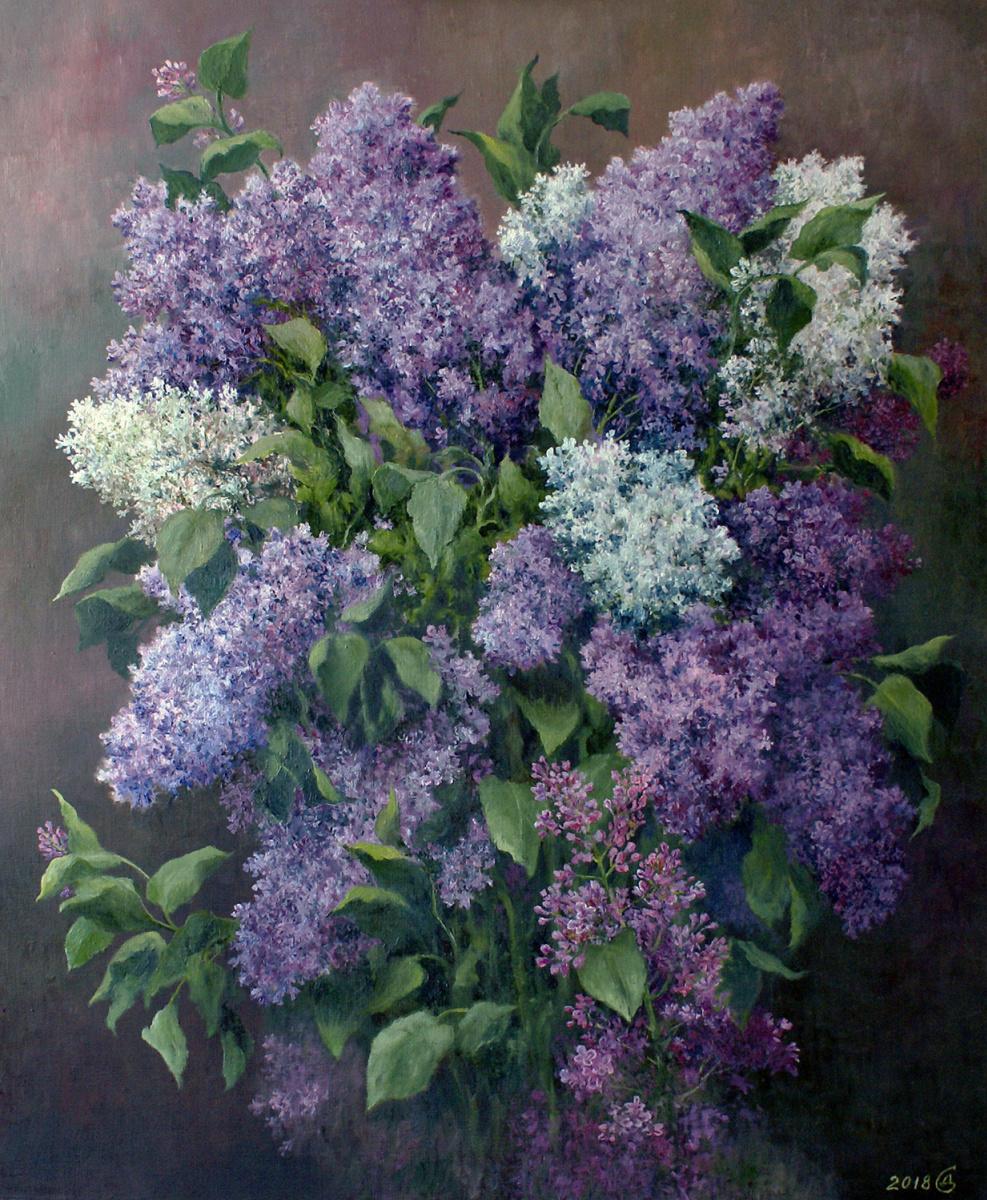 Сергей Владимирович Дорофеев. Lilac blossoms